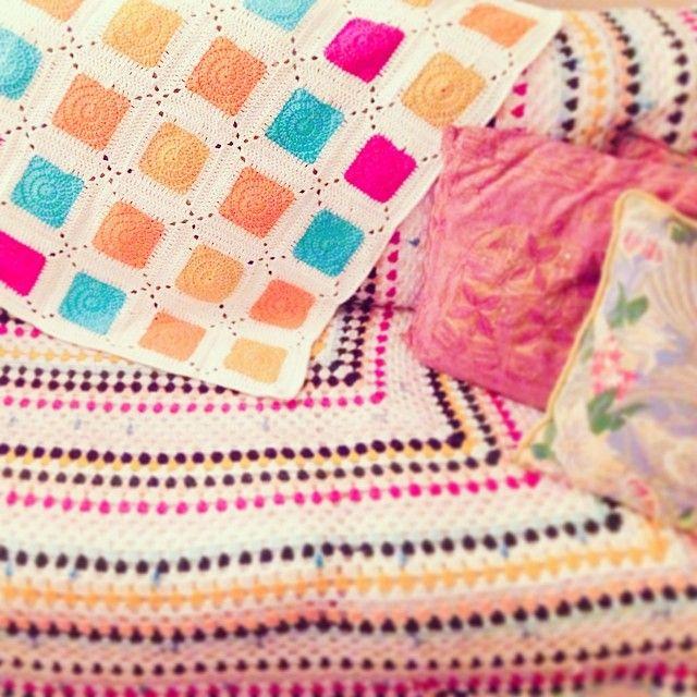 32 besten Crocheted Afghans Bilder auf Pinterest | Häkeln, Stricken ...