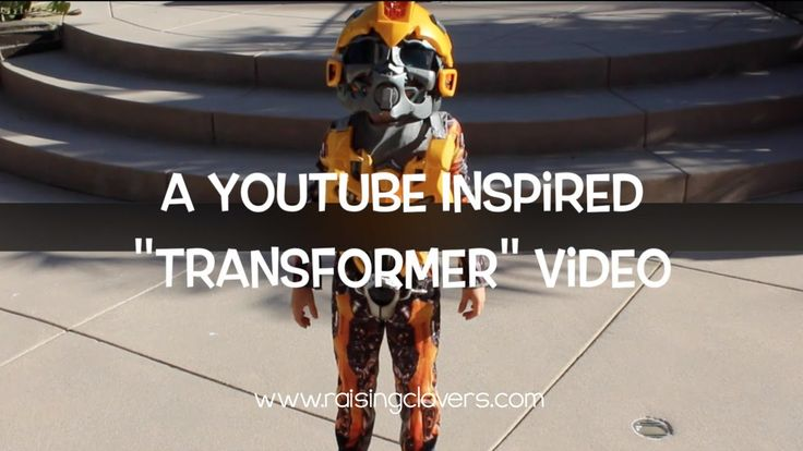 "A YouTube Inspired ""Transformer"" Video. This video makes my whole family laugh. My kids saw a video on YouTube and decided to recreate it themselves.  So funny!  Please share the laughs! :)"
