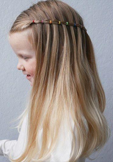 Las niñas, desde pequeñas, se inclinan por tener el pelo largo y siguen las tendencias de moda, porque lo ven en sus madres, en niñas más ...