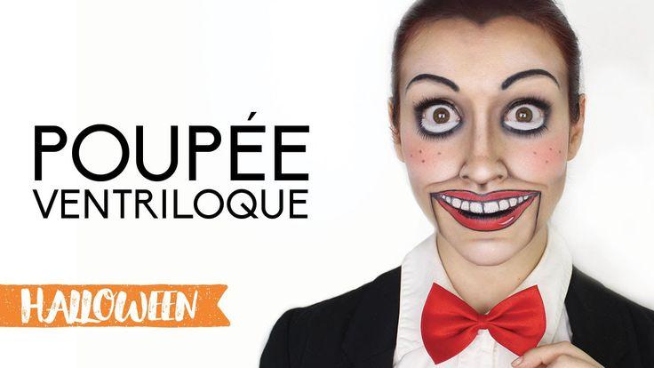 Voici un maquillage d'Halloween unisexe, facile à faire ! J'ai justement mis cette video le 30 octobre puisqu'il ne nécessite pas de pratique et peu de matér...