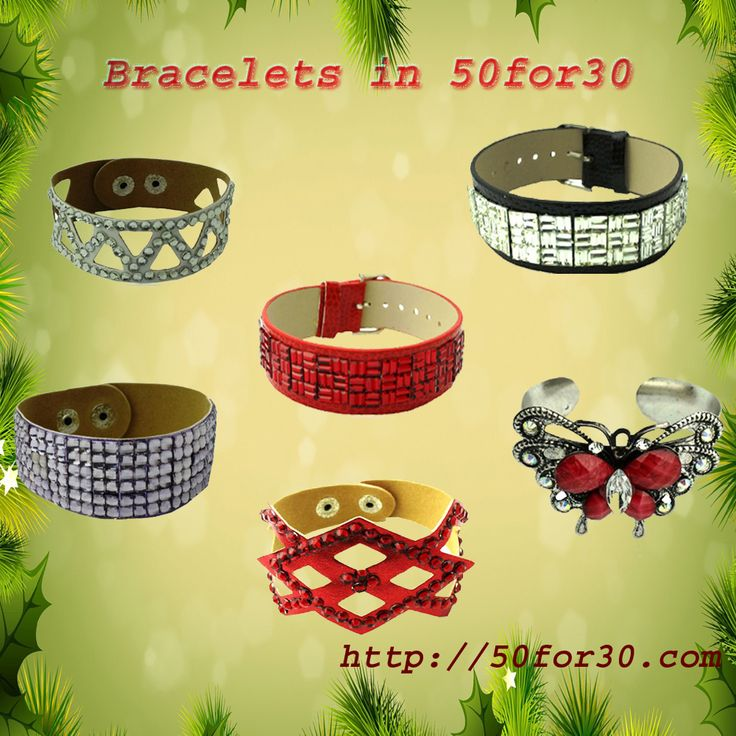 At 50 for 30 you will find great line of bracelets at very cheap prices, which are best for your retail shop. http://tinyurl.com/oavzdg2