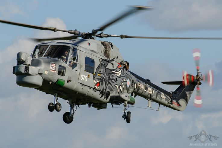 Royal Navy Westland Lynx HMA.8.