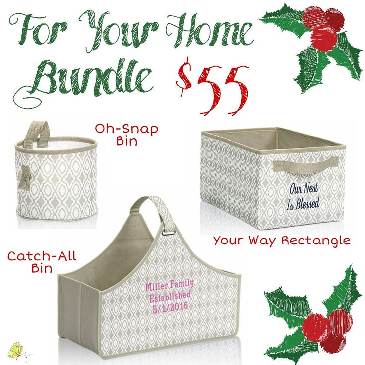 For Your Home Shop starting Nov. 23rd! www.mythirtyone.com/kristijoweiss