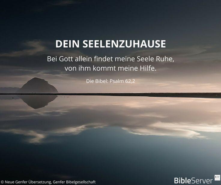 Bibelvers nachzulesen in der Bibel auf #BibleServer | Psalm 62,2