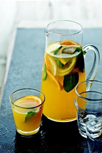 Tropical Sangria from @Bobby Flay's Barbecue Addiction