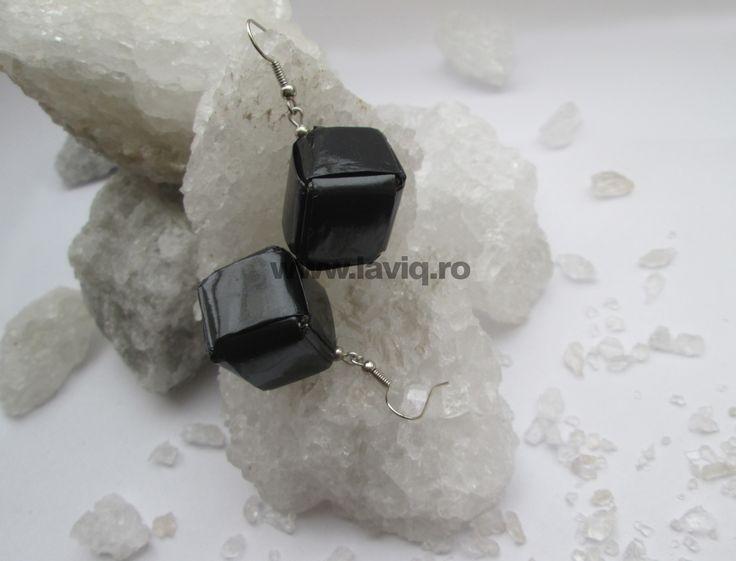 Cercei Eco cub Negru