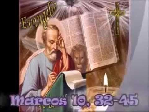 Evangelio del día y comentario (Mc 10, 32-45) En aquel tiempo, los discípulos iban de camino subiendo a Jerusalén, y Jesús marchaba delante de ellos; ellos estaban sorprendidos y los que le…