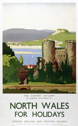 WALES - North Wales, The Conway Estuary