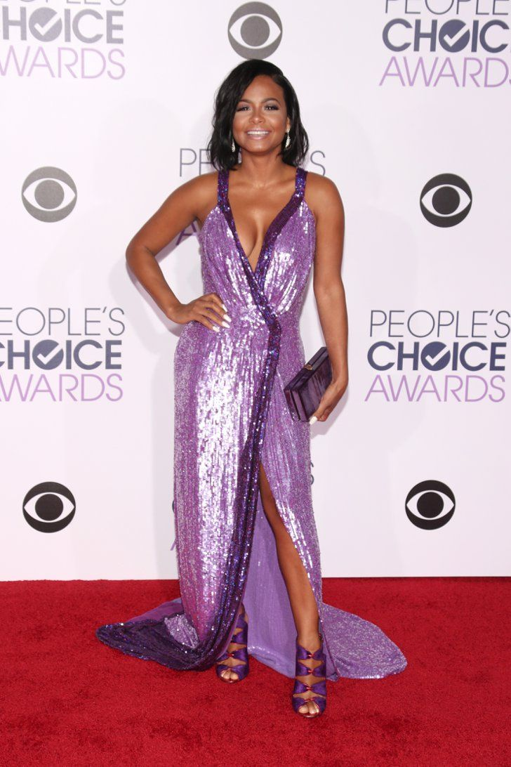 Pin for Later: Le Tapis Rouge des People's Choice Awards 2016 Était Plus Glam Que Jamais Christina Milian