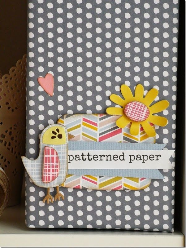 Embellish your storage to make your craft room more colourful with Craft asylum papers and dies!