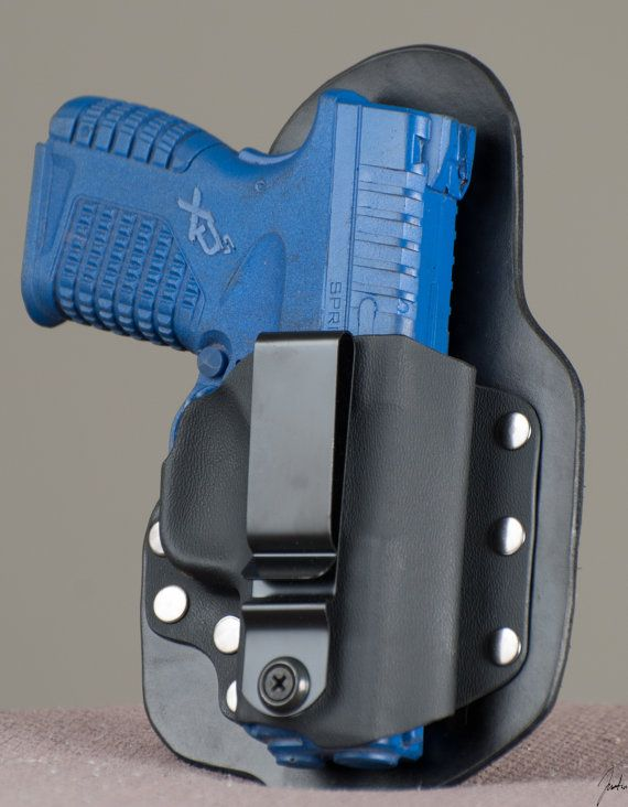 Springfield Armory XDS 45 acp Leather Kydex Gun by TSConcealment