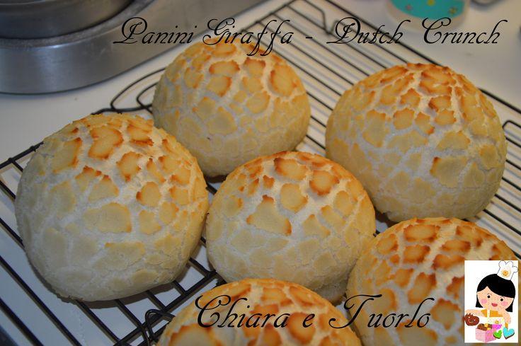 Panini Giraffa con Pasta Madre- Dutch Crunch Bread