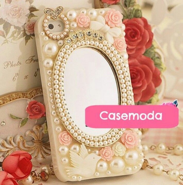 Diy: Vintage Bling Phone Case with  Mirror