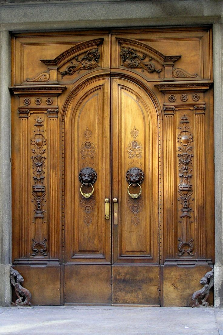 These doors would look great in my Tuscan Manor! Torino