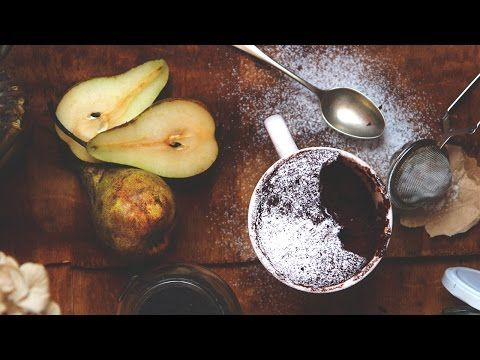 In 30 secondi: video ricetta della mug cake (vegana) al microonde.
