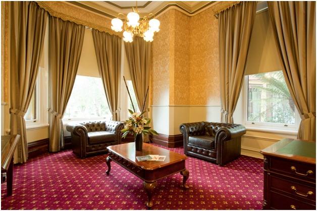 Foyer & sitting room at WorldMark Resort Ballarat