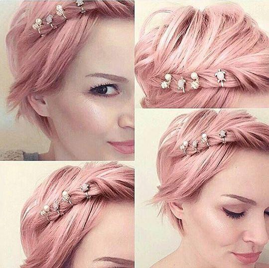 Pretty in Pink: Diese 10 Kurzhaarfrisuren in süßen Pinkfarben möchtest Du sicherlich nicht verpassen!