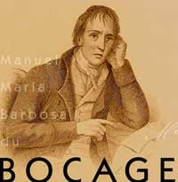 Manuel Maria du Bocage (1765-1805) was the great master of poetic expressiveness, building a work where the fluency and clarity of prose in the service of poetry. Poet of large explosions and convulsions, he can achieve the perfect resonance of feelings in a harmonious balance of writing, resulting in dramatically passionate expressions and a spirit always on the edge of emotion. Owner of a true secret of the enchantment, Bocage animated or petrified whole auditoriums.