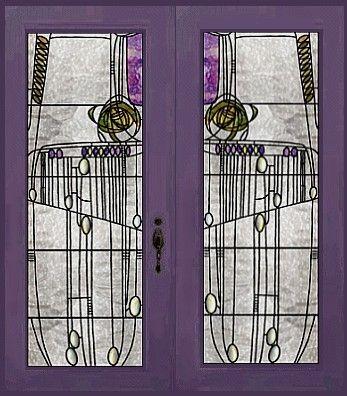 Doors inside The Willow Tearoom designed by Charles Rennie Mackintosh Glasgow & 40 best Charles Rennie Mackintosh images on Pinterest | Charles ...