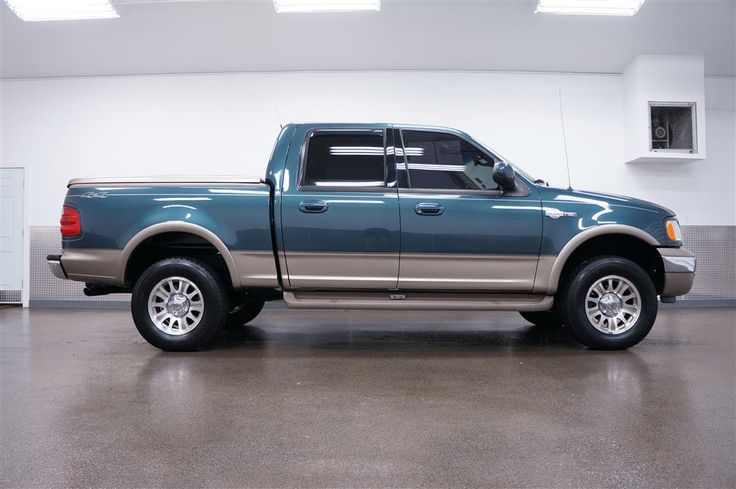 ford kingranch trucks for sale 2002 ford f 150 king ranch 4x4 king ranch w low miles sold. Black Bedroom Furniture Sets. Home Design Ideas
