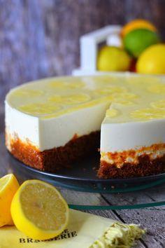 Citromos-joghurtos torta