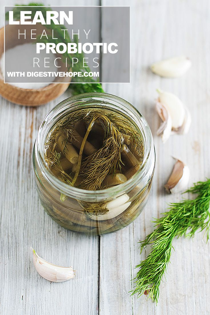 Learn how to make probiotics Fermented Dilly Beans digestivehope.com