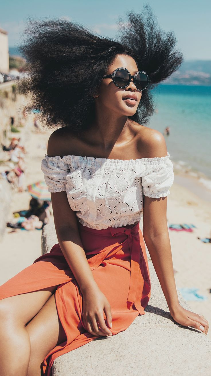 Explore Corsica with blogger Lulama Wolf and her take on H&M style for the summer. | H&M Spring/Summer
