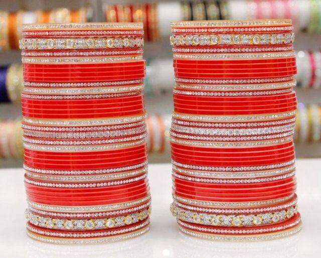 Beautiful Bridal Chura. Website For Purchase : www.weddingchura.com Whatsapp For Purchase : +919416307694