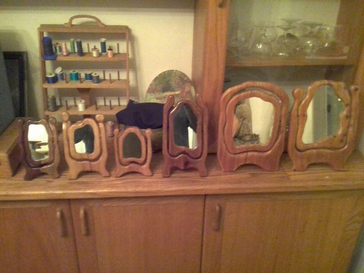 Wooden Handmade mirrors
