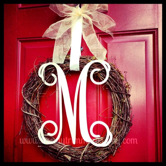 Wonderful Wooden Monogram Letters For Doors Gallery Exterior Ideas