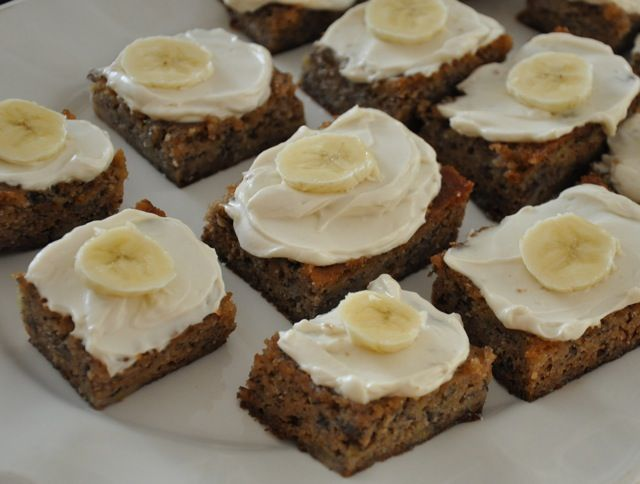 Healthier Banana Cake - Made it into cupcakes, not very sweet.
