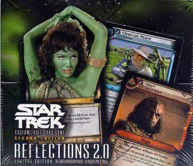 Star Trek CCG: Reflections 2.0 Booster Box @ niftywarehouse.com