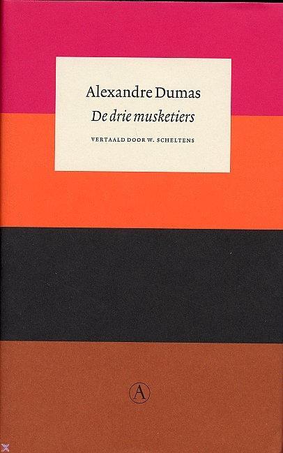De drie musketiers (Boek) door Alexandre Dumas