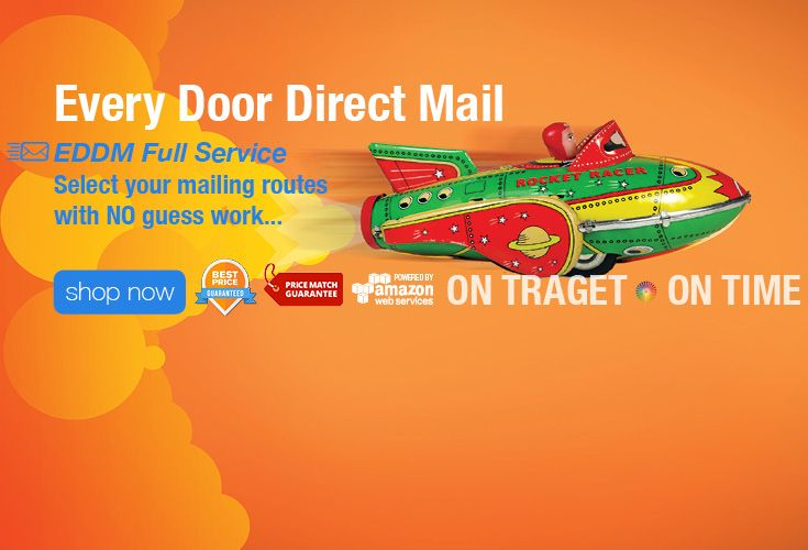 Every Door Direct Mail Eddm Full Service Select Your Mailing Routes With No Guess Work Time Shop Direct Mail Marketing Materials