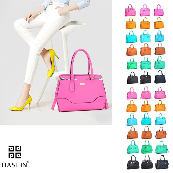 d1cee726ea63 New Dasein Women Handbags Faux Leather Satchels Girls Tote Shoulder Work  Day Bag