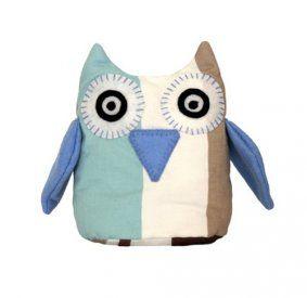 Bluebell Stripe Owl - www.koop.co.nz