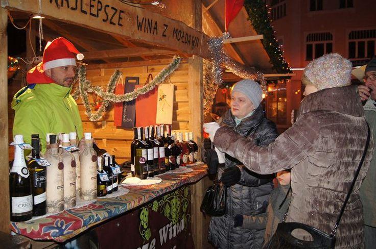 Christmas market Wejherowo, northern Poland. Regional, Kashubian, products