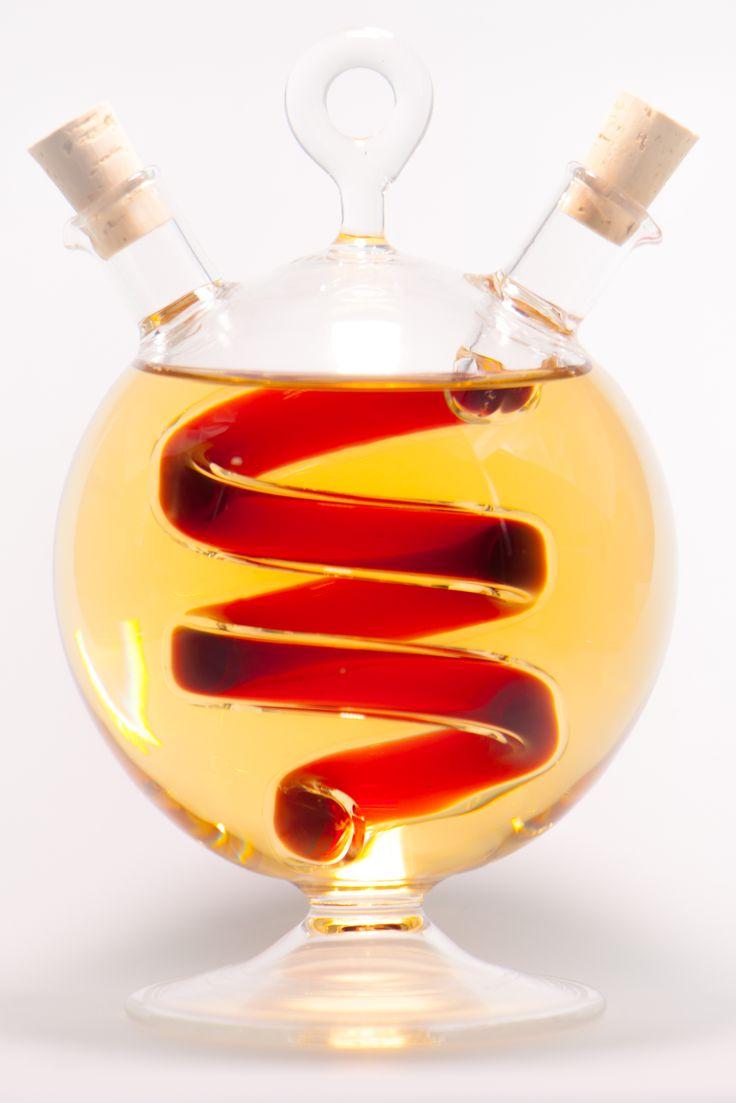 Cruet Kier 2.0 http://bellebottles.com/shop/olive-oil-and-vinegar-cruets/cruet-kier-2-0/  #olive #oil #cruet #fancy #cruetset #handmade #design #exclusive