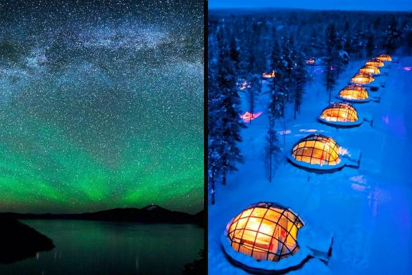 The Northern Lights from Finland or places far away