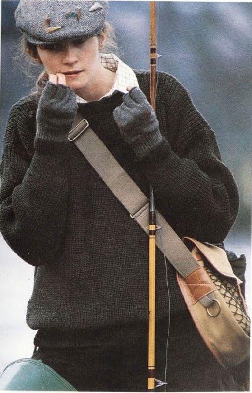 Scottish countryside look. As seen on Tomboy Style.
