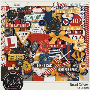 Road Drives Kit by Keley Designs
