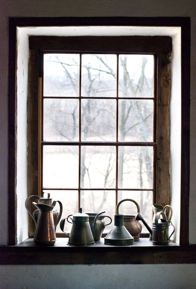 kettles...in your window...make me happy. In my John Denver tone