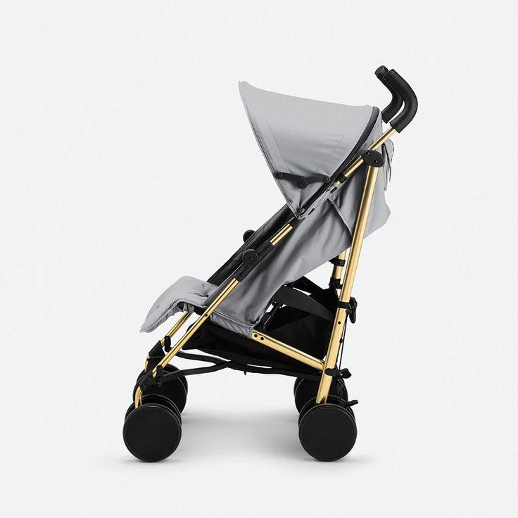 Stroller Elodie Details Golden Grey