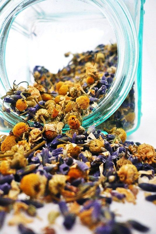 Chamomille, (Matricaria Recutita) Chamomile has been used for centuries in teas as a mild, relaxing sleep aid, treatment for fevers, colds, stomach ailments, and as an anti-inflammatory.