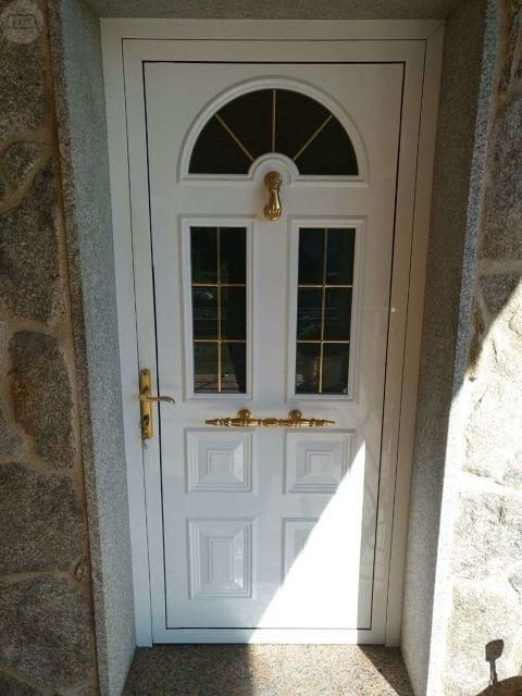 Mil anuncios com puerta de entrada de aluminio cosas for Puertas de entrada de casas modernas