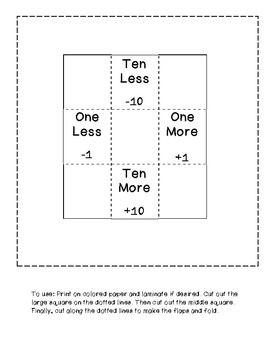 hundreds chart helper freebie number sense place value math classroom first grade math. Black Bedroom Furniture Sets. Home Design Ideas