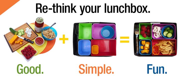 Great ideas for kids' (and parents') lunches on this website.  Laptop Lunches Bento Boxes. Spend less. Waste less. Eat well. www.laptoplunches.com