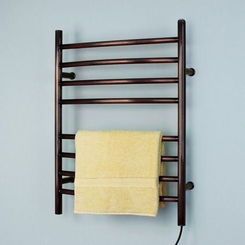 """24"""" Curved Rivergrove Wall Mount Plug-In Electric Towel Warmer"""