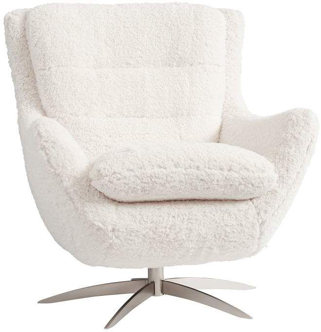 Boucle Twill Gravel Lennon Lounge Chair In 2020 Lounge