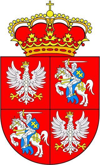 Segismundo II Augusto Jagellón(Cracovia, 1520 – Knyszyn, 1572) fue Rey de Polonia y Gran Duque de Lituania (1548–1572). Era hijo de Segismundo I y de la princesa milanesa Bona Sforza Aragón. En 1569 proclamó la unión de Polonia y Lituania en una república común, la República de las Dos Naciones. Tuvo tres esposas y sin descendencia, por este motivo al morir la corona pasó a ser electiva y recayó en Enrique III de Francia